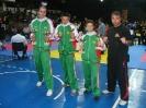 Бойци на Хелиос с трофеи в Румъния